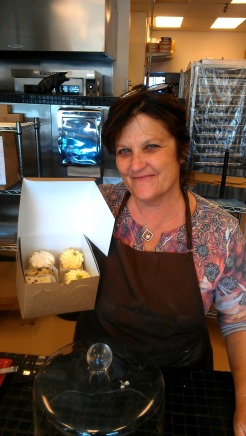 Robin, owner of Cupcakes Squared